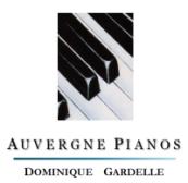 Magasin Auvergne PianosGardelle